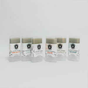 Mini Deodorant Sample pack