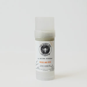 Woods and Spice All Natural Deodorant