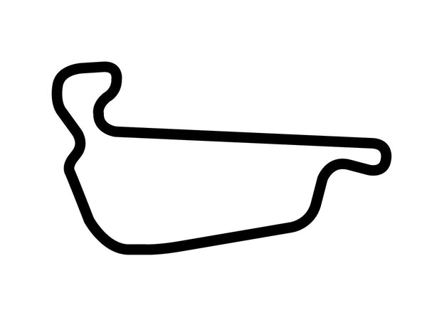 Adams Motorsports Park Decal Sticker