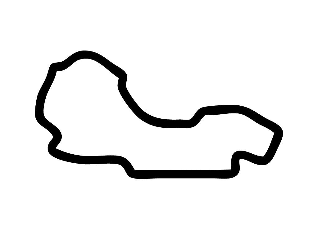 Melbourne Grand Prix Circuit Decal Trackdecals