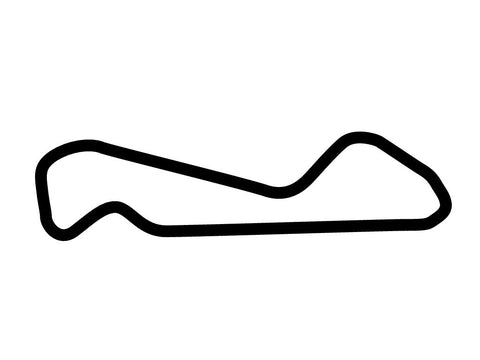 Arizona Motorsports Park East Circuit Decal