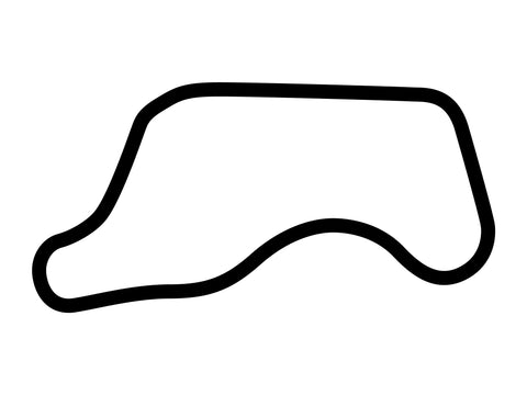 Chang International Circuit Course B Decal