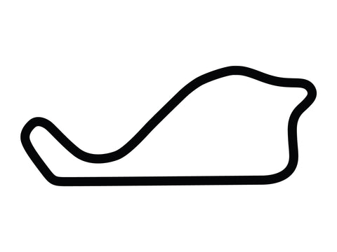Morgan Park Raceway B Course Decal