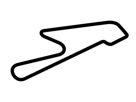 Bedford Autodrome North Circuit Decal