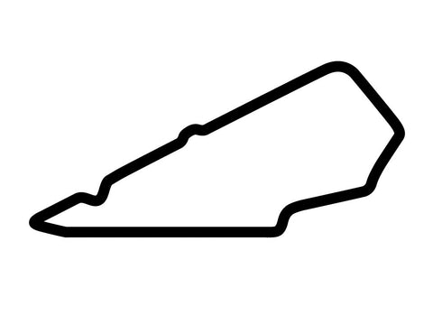 Bedford Autodrome South Circuit Decal