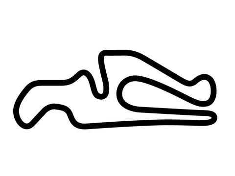 CalSpeed Karting Grande Course Decal