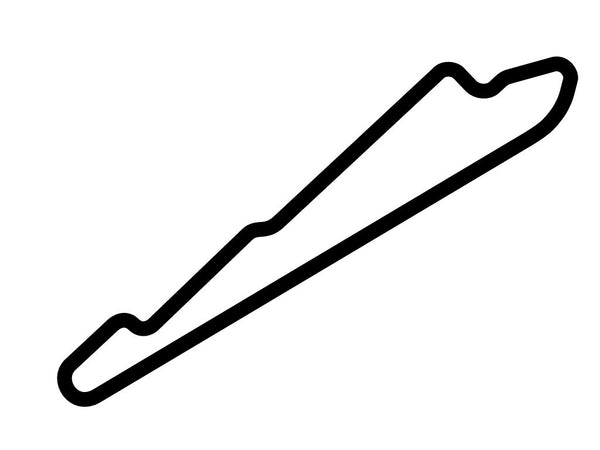 Calder Park Raceway Road Course Decal