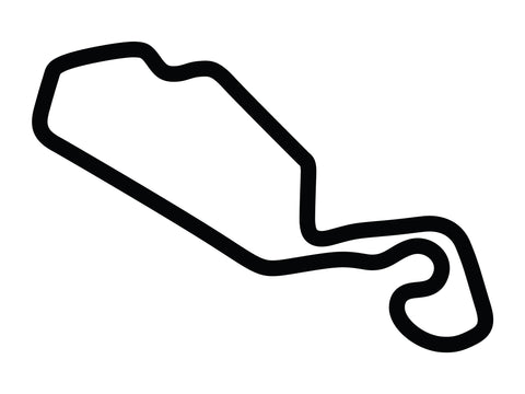 New Jersey Motorsports Park Thunderbolt with Chicane 2 Decal