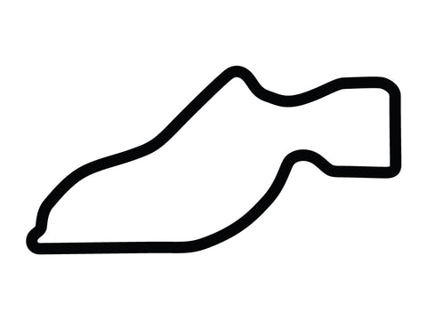 Sebring International Raceway Club Course Decal