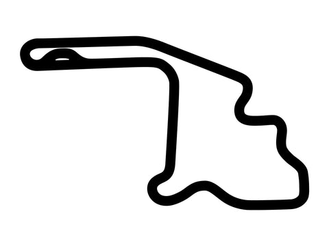 Mid-Ohio Main Combo Course Decal
