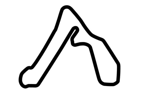 Croft Circuit Decal