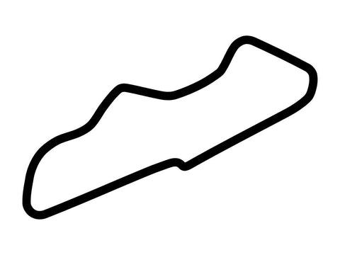 Donington Park National Circuit Decal