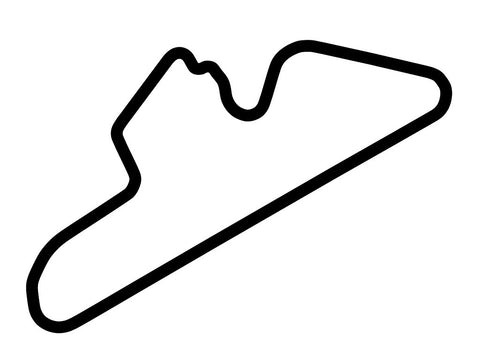 Dubai Autodrome Club Course Decal