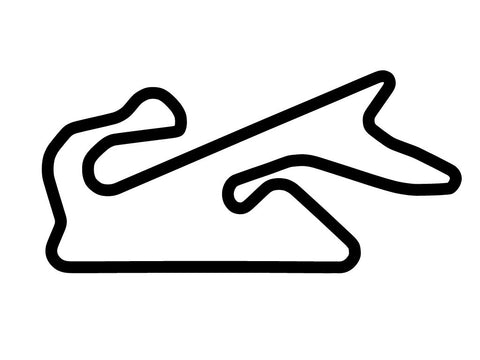 Dubai Autodrome Grand Prix Course Decal