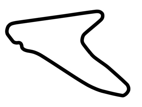Dubai Autodrome Hill Handling Course Decal