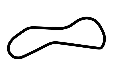 Dubai Autodrome Oval Handling Course Decal