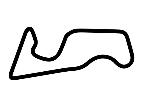 Chang International Circuit Course E Decal