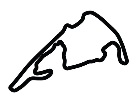 Virginia International Raceway Grand East Course Decal