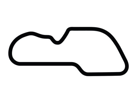 Morgan Park Raceway F Course Decal