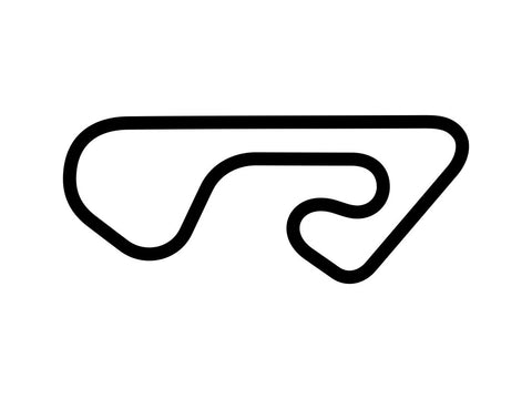 F1 Outdoors Kart Fountain Track Decal