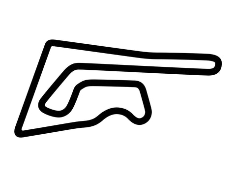 Chang International Circuit Full Course Decal