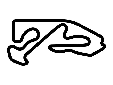 Monticello Motor Club Full Course Decal