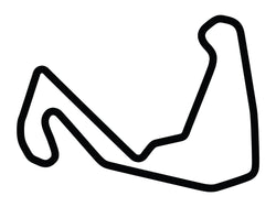 Carolina Motorsports Park Full Course Decal