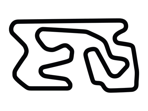 Utah Motorsports Campus Full Course Decal