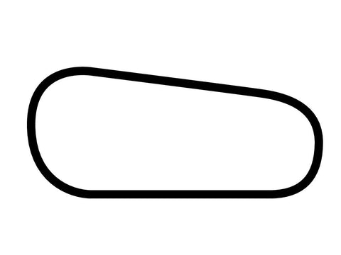 Gateway Motorsports Park Oval Decal