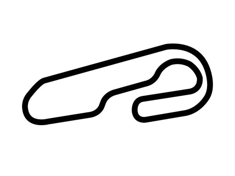 Gateway Motorsports Park Road Course Decal Sticker