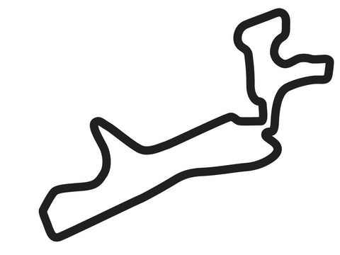 Gotland Ring Grand Prix 2 Circuit Decal