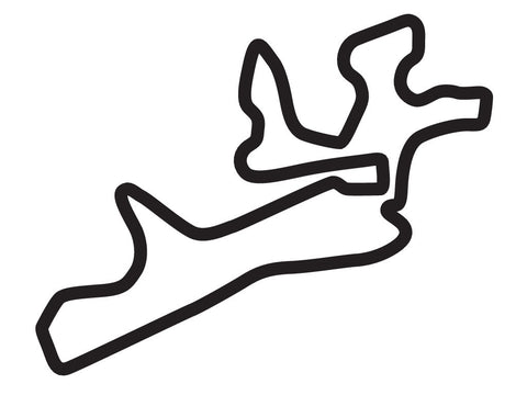 Gotland Ring Grand Prix Circuit Decal
