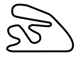 Hampton Downs Full Circuit Decal