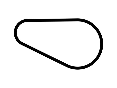 Highlands Motorsports Park B Decal