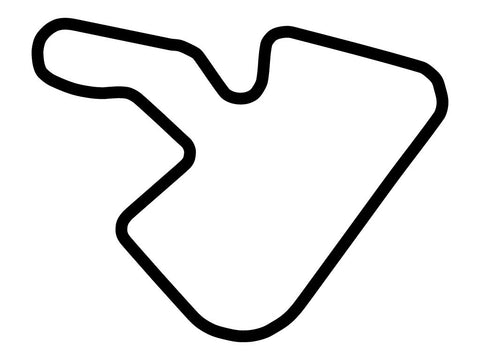 Irungattukottai Race Track Club Circuit Decal