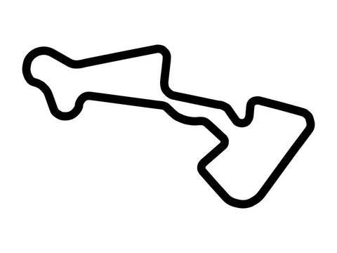 Irungattukottai Race Track Full Circuit Decal
