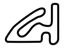 Willow Springs Kart Track Decal