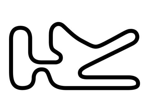 Florida International Rally & Motorsport Park Kart Track Decal