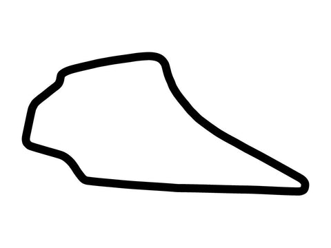 Knockhill Racing Circuit Decal