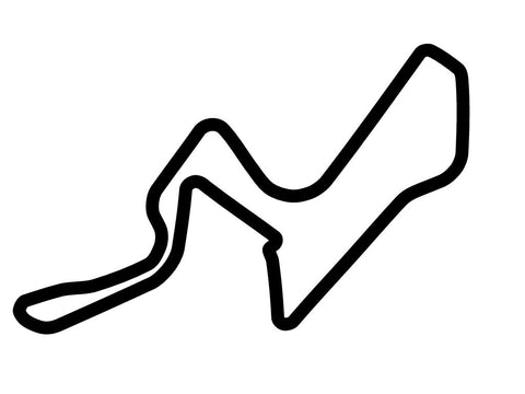 Kyalami Race Track Decal