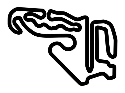 Spring Mountain Motorsports Ranch Long Decal