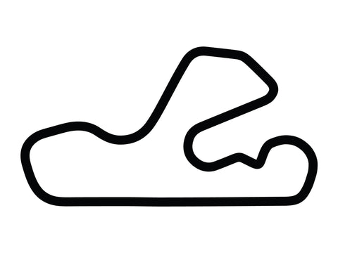 Putnam Park Long Road Course with Chicane A Decal