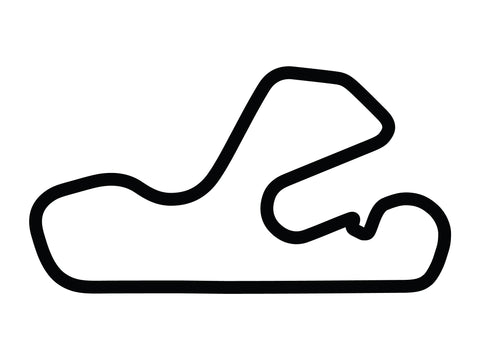 Putnam Park Long Road Course with Chicane C Decal