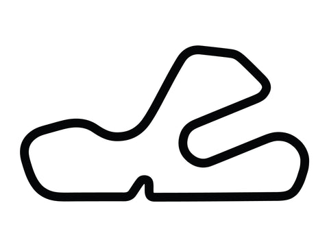 Putnam Park Long Road Course with Loop Decal