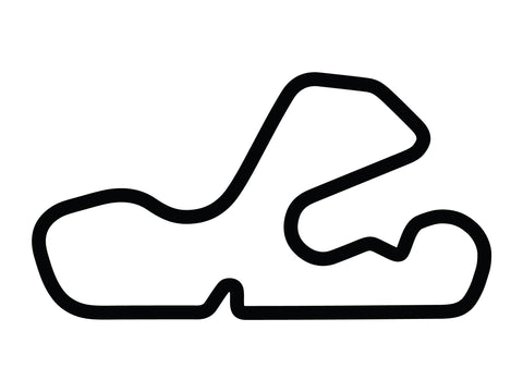 Putnam Park Long Road Course with Chicane A and Loop Decal