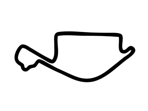 Long Beach Grand Prix Decal Sticker