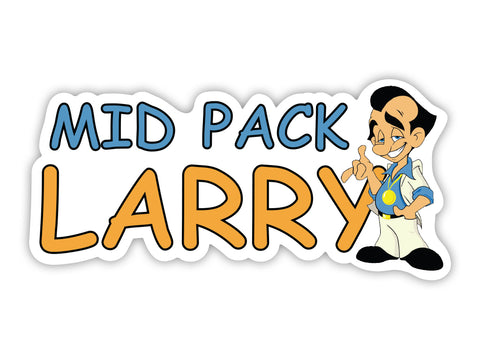 Mid Pack Larry Sticker