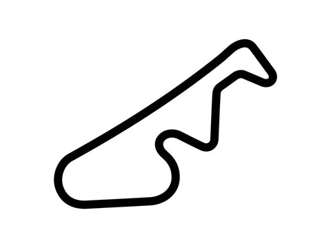 Mid-State Kart Club Track Decal