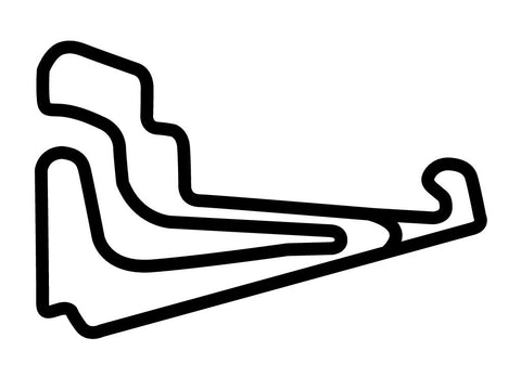 Moscow Autodrom at Miachkovo Decal