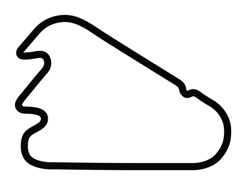 Pocono Int'l Raceway North South Option 1 Course Decal